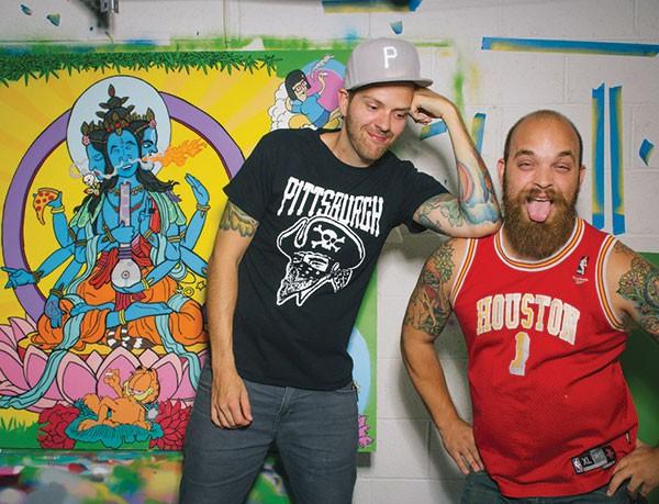 Matt Gondek (left) and Brian Gonella