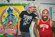Matt Gondek and Brian Gonnella draw together