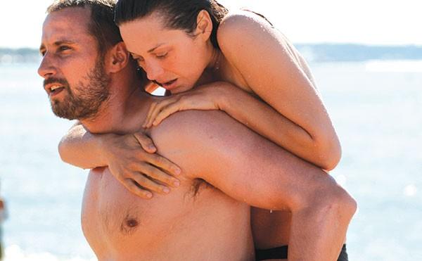 Matthias Schoenaerts and Marion Cotillard