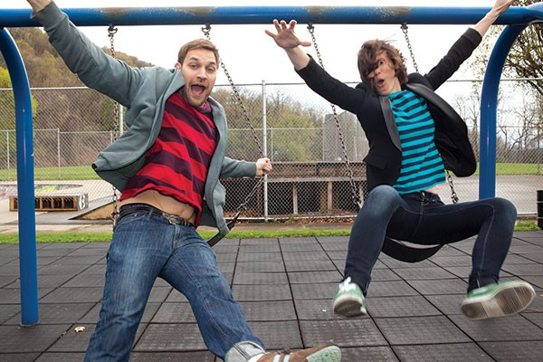 Meet you in the schoolyard: Josh Verbanets and Gab Bonesso
