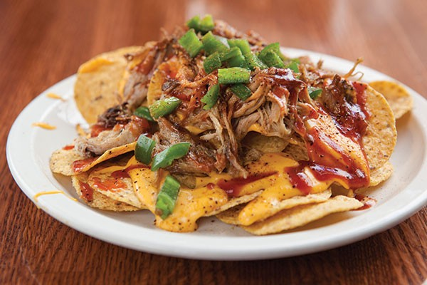 Memphis nachos at South Side Barbecue Company