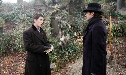 Men of magic: Christian Bale and Hugh Jackman