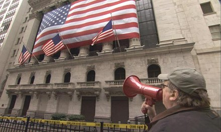 Michael Moore has a message for Wall Street.
