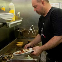 Micro Diner Micro Diner chef Tony Folino Photo by Heather Mull