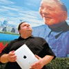 Mike Daisey faces the dark side of his beloved Apple devices.