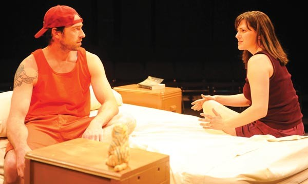 Mike Mihm and Tressa Glover in No Name Players' Orange Flower Water