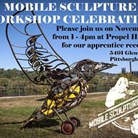Mobile Sculpture Workshop Unveiling Saturday