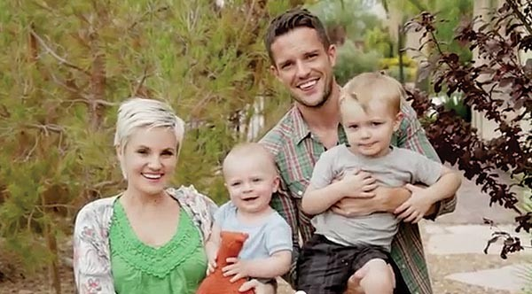 Model Mormons: Brandon Flowers and family