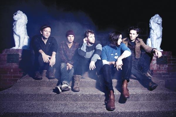 Model rock band: Pet Clinic (from left, Ian Edwards, Mike Arendt, Kenny Nelson, David Bubenheim, John Henderson)