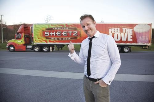 Morgan Spurlock puts a shine on Sheetz.