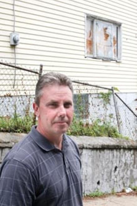 Mount Oliver's code-enforcement officer, Tom Plietz - HEATHER MULL