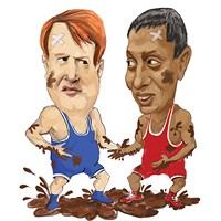 Mud Slide: Raja, Fitzgerald have made race for county exec a messy one