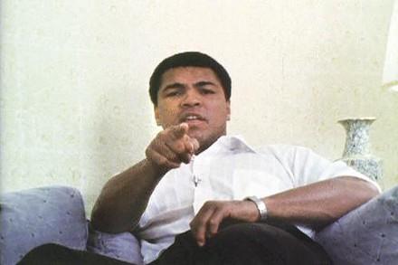 Muhammad Ali in Billy Jackson's 1977 film - IMAGE COURTESY OF BILLY JACKSON