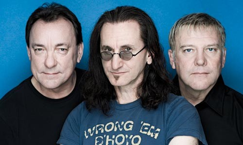 Music dorks' holy trinity: Rush