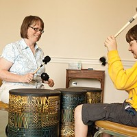 Music therapists do a lot more than sing