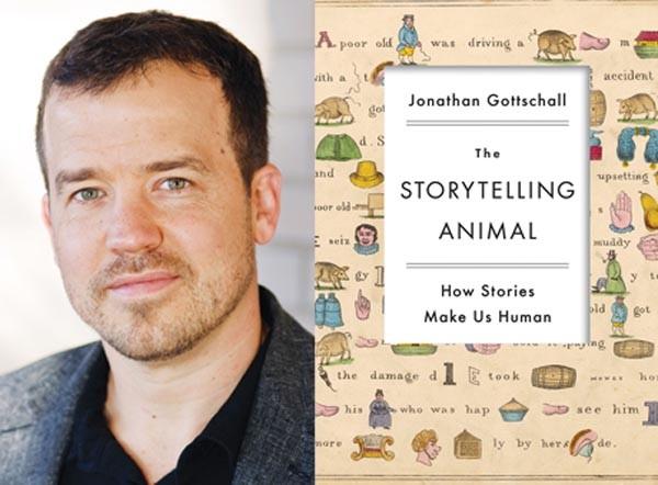 Narrative arcs: Jonathan Gottschall, author of The Storytelling Animal