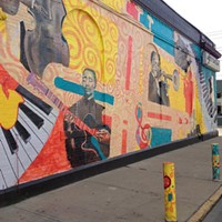 New Mural Honors Local Jazz Greats