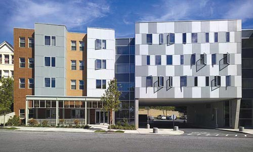 New neighbors: Fairmont Apartments, designed by Rothschild Doyno Architects. Photo by Ed Massery