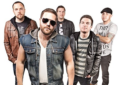 Nice jeans: Gene the Werewolf (Clockwise from front: Jon Belan, Drew Donegan, Tim Schultz, Aaron Mediate, Nick Revak) - PHOTO COURTESY OF BRIAN KALDORF