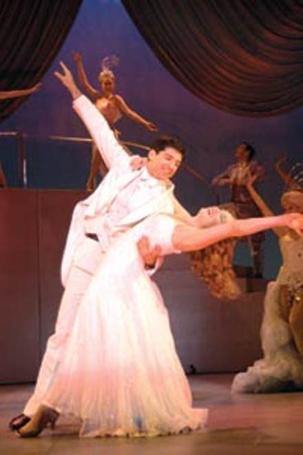 Nightclubbed: Tony Yazbeck and Chandra Lee Schwartz in Barry Manilow's Copacabana, at Pittsburgh CLO.