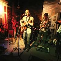 Nik & the Central Plains live at Thunderbird Caf