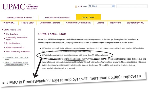 No Help Wanted: In filing to labor board, UPMC claims it has