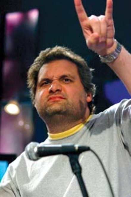 No hiking for him: Artie Lange.