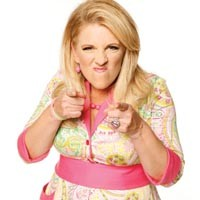 No, she really does hate you: Lisa Lampanelli.