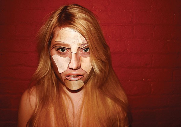 Noise artist Margaret Chardiet, who performs as Pharmakon