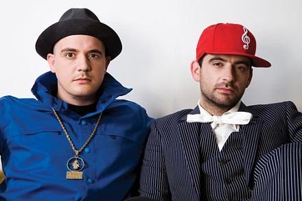 Noise from the underground: German duo Modeselektor - COURTESY OF BIRGIT KAULFUSS