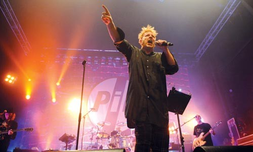 Not quite the country life: Public Image Limited