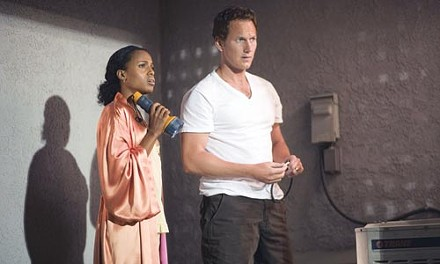 Not so black and white: Kerry Washington and Patrick Wilson
