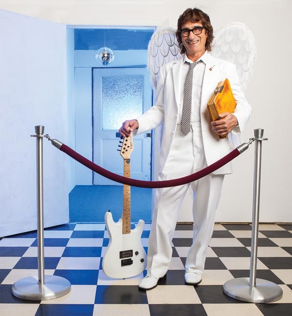 """Not so much """"Hallelujah"""" as """"Ah Leah"""": At the pearly gates, true Pittsburghers will find their names on Donnie Iris' comp list - PHOTO BY HEATHER MULL"""