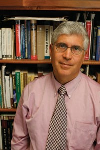 """""""Not the dogma, not the doctrine"""": author Bruce Ledewitz."""