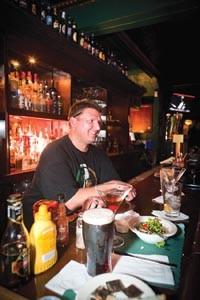 Now pouring: It's always Mark Miller time at Monterey Pub. - RENEE ROSENSTEEL