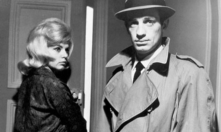 Of blondes and bullets: Monique Hennessy and Jean-Paul Belmondo, in Le Doulos