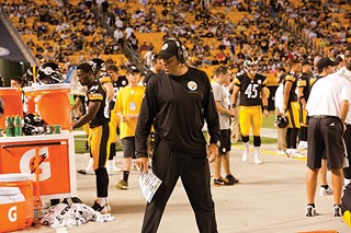 Offensive coordinator Todd Haley