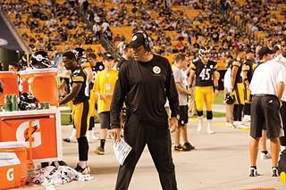 Offensive coordinator Todd Haley