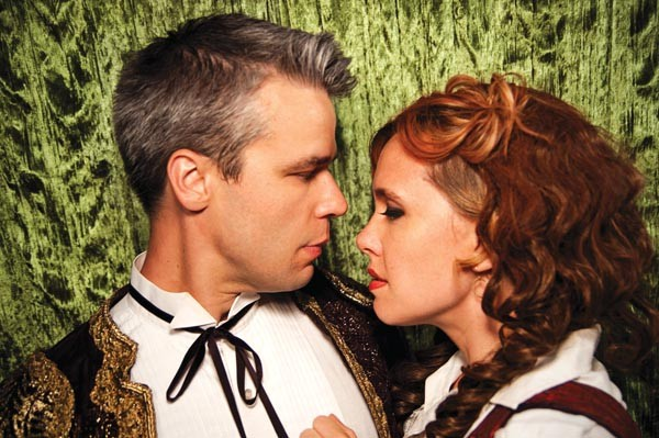 Olé: Kara Cornell and Daniel Teadt in Opera Theater's Carmen — The Gypsy