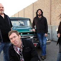 Old-school: Dirty Charms (from left): Rocky Lamonde, Trym Killi, Darryl Thumm, Angelo Amantea