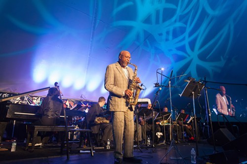 Oliver Lake leads the Oliver Lake Big Band