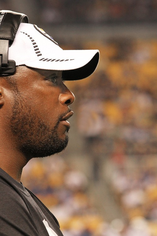 On board for four more years: Mike Tomlin