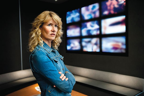 On the watch: Laura Dern in HBO's Enlightened
