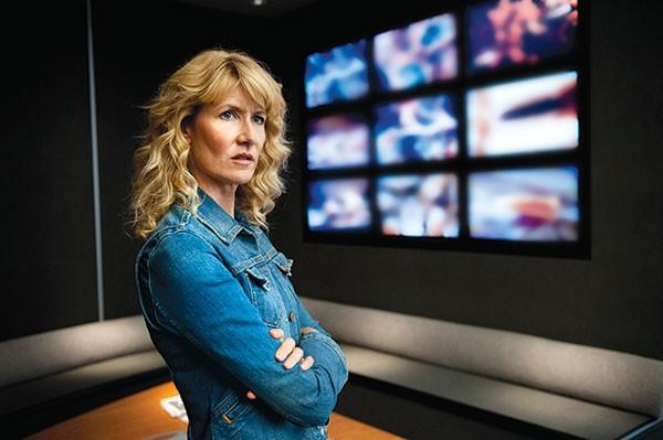 On the watch: Laura Dern in HBO's Enlightened