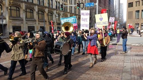 One Billion Rising March