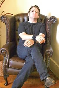 One-man band: Greg Hoy