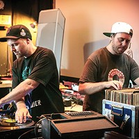 DJ Shadow and Cut Chemist come to town to spin Afrika Bambaataa's records