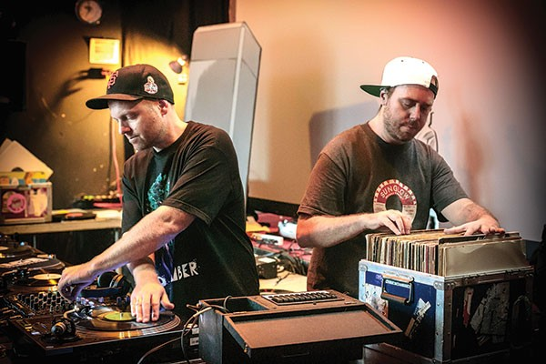 Other people's records: DJ Shadow and Cut Chemist