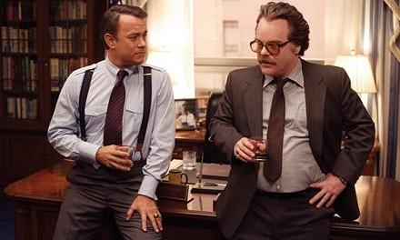 Our men in Kabul: Tom Hanks and Philip Seymour Hoffman