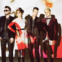 Our name is Neon Trees. We're musicians, we're famous and we're Mormons (mostly).